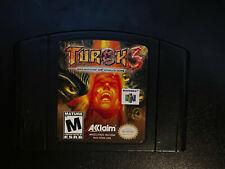 Turok 3: Shadow of Oblivion (Nintendo 64, 2000) - Tested - Authentic