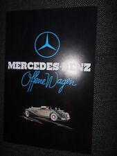 Prospekt Sales Brochure Mercedes Benz offene Wagen Technische Daten Ausstattung