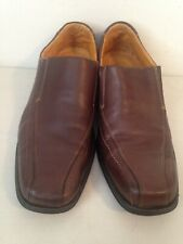 50a0dc6fff5 Sandro Moscoloni Loafers Mens 13D Slip On Casual Shoes Brown Soft Leather