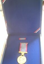 Serbia order medal in box for 30 years diligent military service medaille