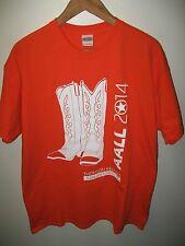 Cowboy Boots Tee - 2014 Thomson Reuters San Antonio Country Western T Shirt XLrg