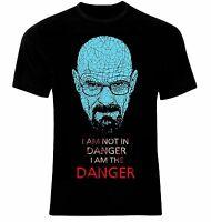 Breaking Bad Walter White Heisenberg T-Shirt I Am The Danger All Sizes