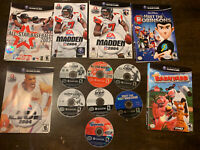 Lot 7 Nintendo GameCube Games Some Cover Art And Manual. See Image.