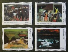 85th birth anniversary of Samal Joensen-Mikines, (painter) stamps, 1991, MNH