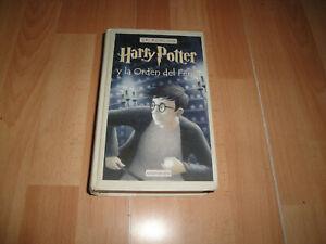 HARRY POTTER Y LA ORDEN DEL FENIX DE J.K. ROWLING LIBRO 1ª EDICION BUEN ESTADO