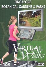SINGAPORE BOTANICAL GARDENS & PARKS VIRTUAL WALK WALKING TREADMILL WORKOUT DVD