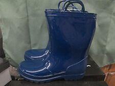 Brand New Boys Blue Rain Boots Waterproof Size Toddler, Little Kids, Big Kids