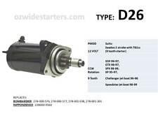 Seadoo starter motor suits GSX, GTX, SPX, XP, Speedster with 782cc engine