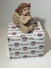 Dreamsicles Angel Wish I May 10872 Brown w/box & Packing Hard To Find 1999