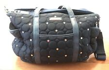 Rebecca Minkoff Marissa Quilted & Studded Diaper Bag Navy