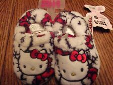 *********toddler girl hello kitty slippers size 5-6 nwt