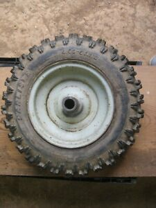 Troy-Bilt Horse Tiller Wheel  and Tire from 1980 Horse Rototiller Rim