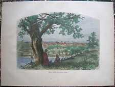 1872 Bryant print ERIE (FROM FEDERAL HILL), PENNSYLVANIA (#239)