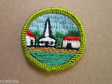 Citizenship Merit Badge BSA Woven Cloth Patch Badge Boy Scouts Scouting