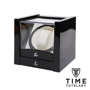 Time Tutelary KA079 Automatic Watch Winder AC Power UK Plug - Black - Brand New