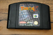 Jeu TUROK 2 SEEDS OF EVIL pour Nintendo 64