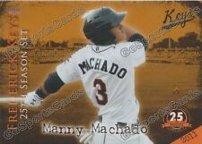 2013 Frederick Keys 25th Anniversary Complete Team Set Orioles Minor League