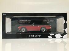 1/18 Minichamps 1969 Triumph TR6 RHD Red Ltd Edition 500 pcs 155 132031