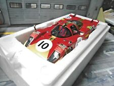 FERRARI 512S 512 S 24h Le Mans Racing #10 Kelleners Loos 1970 CMR Resin 1:18