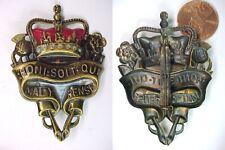 British Order of the Garter Enameled Pin Brooch Honi Soit Qui Mal Y Pense