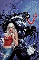 🕸 VENOM INC OMEGA #1 TYLER KIRKHAM Cover C Exclusive Virgin Cvr 🔥 Black Cat NM