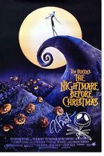 THE NIGHTMARE BEFORE CHRISTMAS PRINT PHOTO PRE SIGNED - 12 X 8 INCH - TIM BURTON