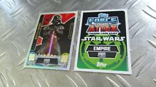 DARTH VADER - LE2 - Limitierte Auflage - Movie  Serie 2 - Star Wars Force Attax