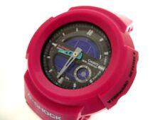 Auth CASIO G-SHOCK AW-582SC Black Pink Men's Wrist Watch