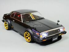 1/10 RC Car BODY Shell NISSAN SKYLINE HT 2000 190mm *FINISHED* BLACK