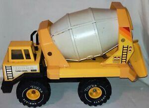 Vintage Tonka Pressed Steel XMB-975 Turbo Diesel Cement Mixer