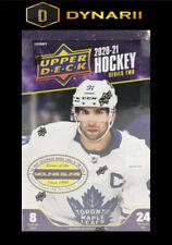 Columbus Blue Jackets - 2020-21 Upper deck Series 2 Hockey- 1 Hobby Box Break #3