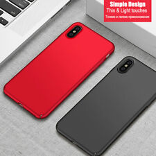 Black Red Soft Case Cover Gel Silicone Case For iPhone 11 XS 7+ 6s SE 8 5s XR 6+