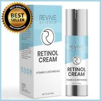 Retinol & Vitamin C Anti Aging Skin Cream - Scar, Wrinkle & Dark Spot Corrector