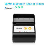 58mm Bluetooth Thermal Printer Label Receipt Printer for Android / iOS Windows