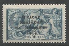 Ireland 1922 Mint SG21 sc 14 T14 10s Dollard seahorse
