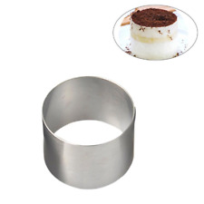 2Inch Stainless Steel Mousse Cake Ring Mold Cookie Pastry Baking Mould Tool Mini