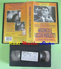VHS film ARSENICO E VECCHI MERLETTI Frank capra Cary Grant LEGOCART (F20) no dvd