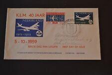 NEDERLAND fdC 1959 KLM