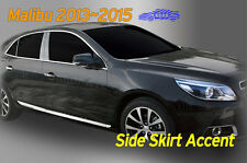 Side Skirt Accent Molding Chrome Garnish B761 Slv for CHEVROLET 2013~15 Malibu