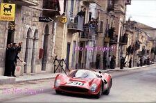 Lorenzo Bandini & Nino Vaccarella Ferrari 330 P3 Targa Florio 1966 Photograph