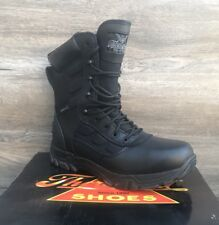 "Thorogood 834-6219 The Deuce 8"" Waterproof Side Zip Uniform Non-Metallic Boot"