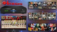 Istar Korea S10 V2 Android 4K & satellite, 1 Year Free Online Tv 2700 channels