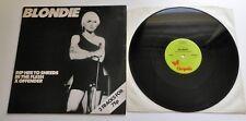 "Blondie - Rip Her To Shreds (Shreads) UK 1977 Chrysalis Green Label 12"" Single"