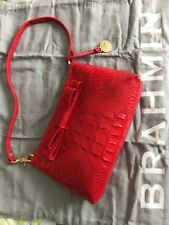 Brahmin Lacquer Red Glossy Handbag, Melbourne Collection - NWOT