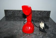 TELEPHONE VINTAGE ERICSSON LM COBRA ROUGE. MADE IN SWEDEN.