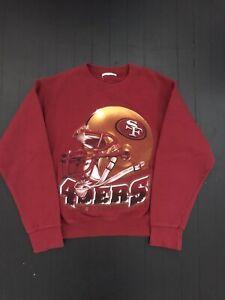 Vintage 90's Nutmeg SAN FRANCISCO 49ers Youth Large Sweatshirt