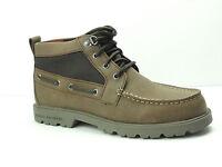 Men's Sperry Top-Sider Leeward Lug Chukka Tan Waterproof Boots Boat Shoes
