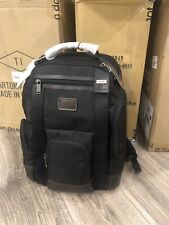 New Tumi Hedrick Deluxe Brief Pack Business Laptop Backpack Hickory