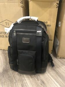 Tumi Ballistic Nylon Hedrick Deluxe Brief Pack Business Laptop Backpack Hickory