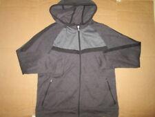 Mens ASICS athletic hooded full zip sweatshirt jacket XL
